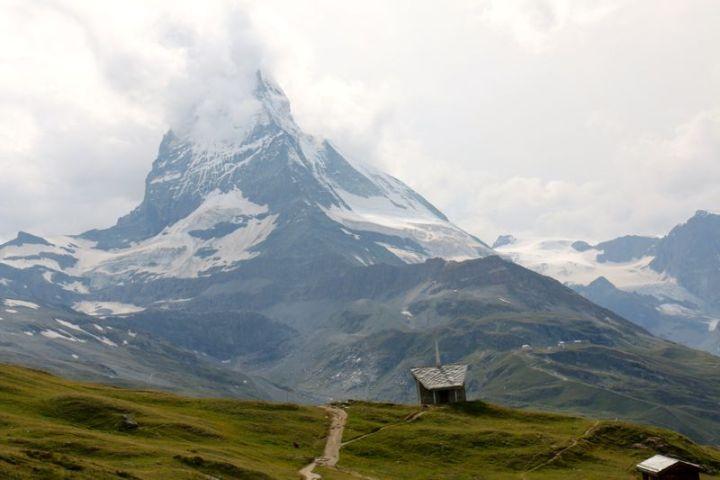 Matterhorn – das Wahrzeichen der Schweizer Berge.