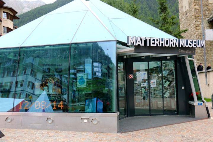 Zermatlantis, das unterirdische Matterhornmuseum in ZermattZermatlantis, das unterirdische Matterhornmuseum in Zermatt