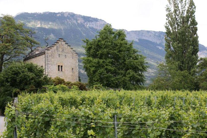 Im Château Muzot lebte und dichtete Rainer Maria Rilke.