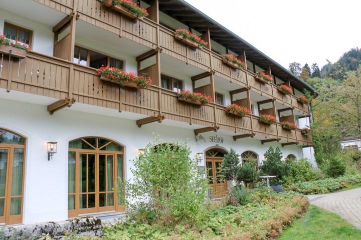 Seehof vom Arabella Alpenhotel am Spitzingsee