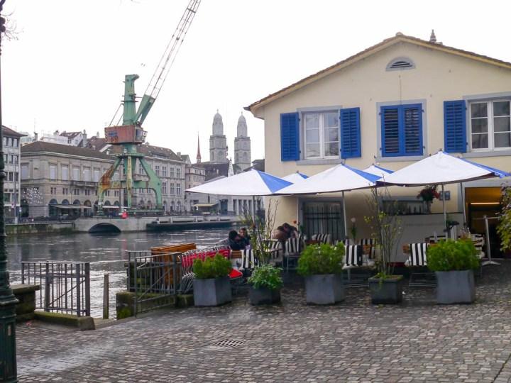 Schipfe, eines der ältesten Quartiere Zürichs