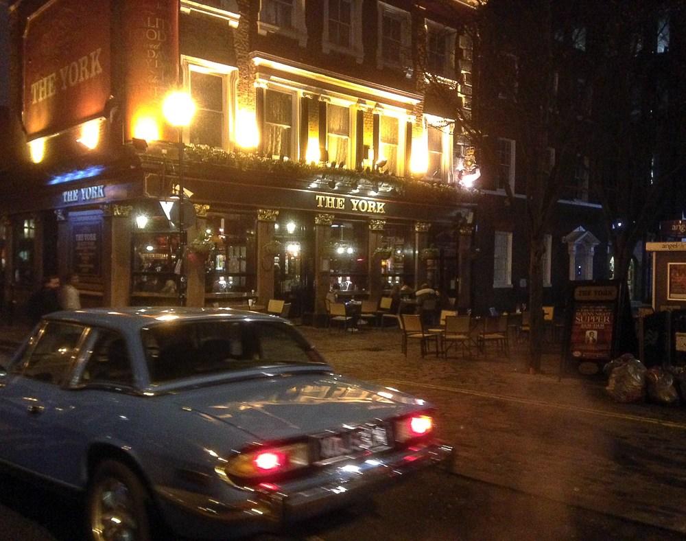 Neulich abends im Pub in London