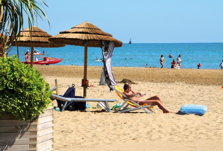 Relaxen am Strand, Bibione