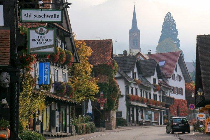 Talstraße in Sasbachwalden