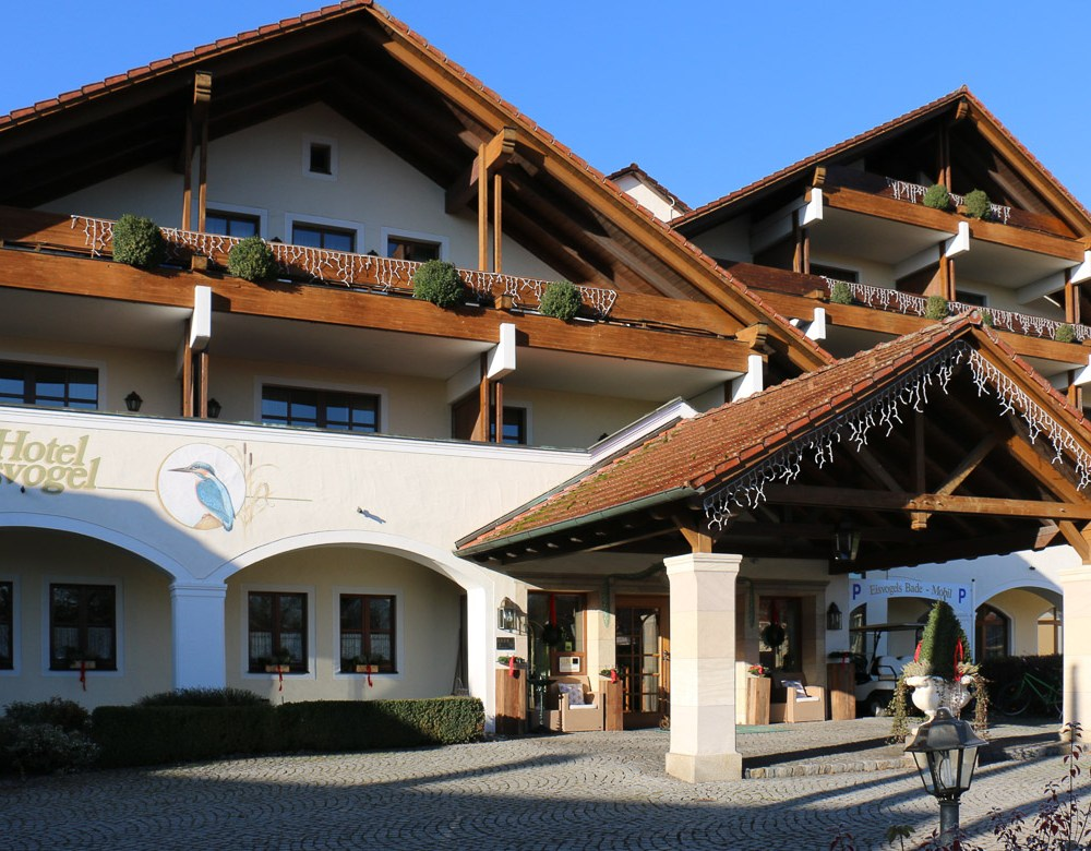 Wellness-Hotel Eisvogel in Bad Gögging, Bayern