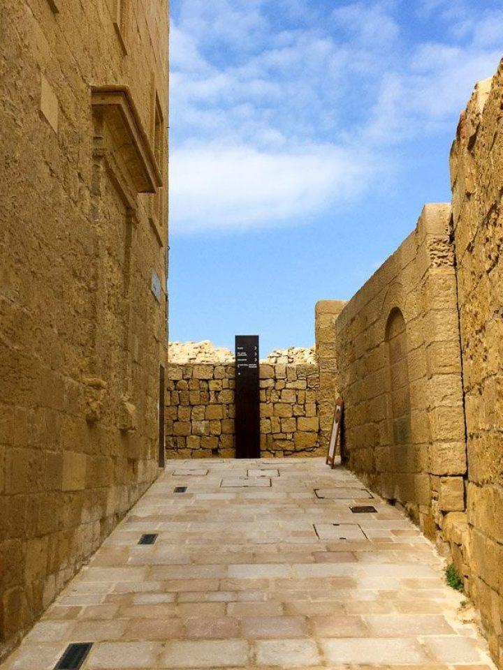 Aufgang zum Panoramaweg der Zitadelle