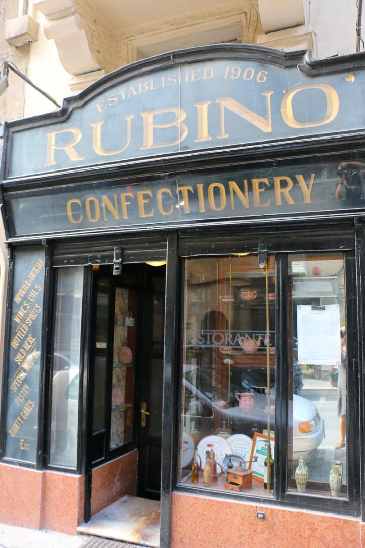 Restaurant Rubino, Valletta