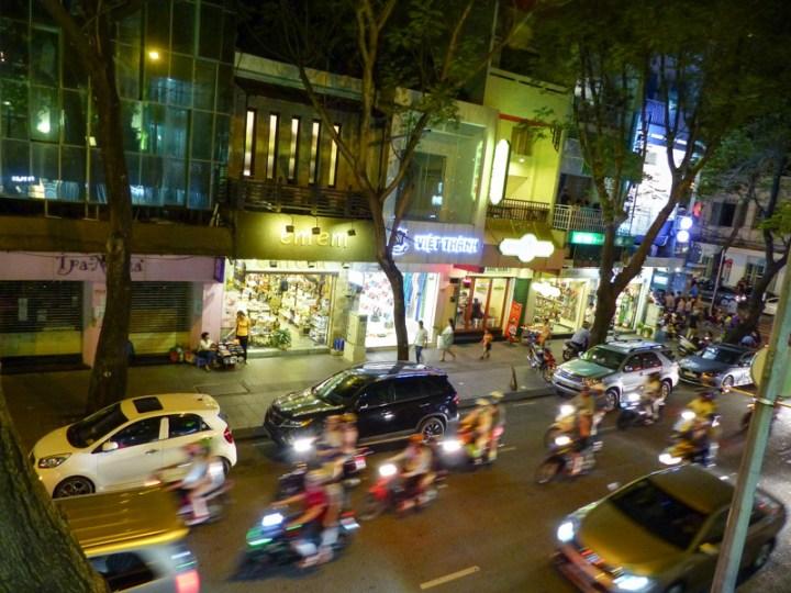 Gegen Mitternacht lässt der Verkehr nach