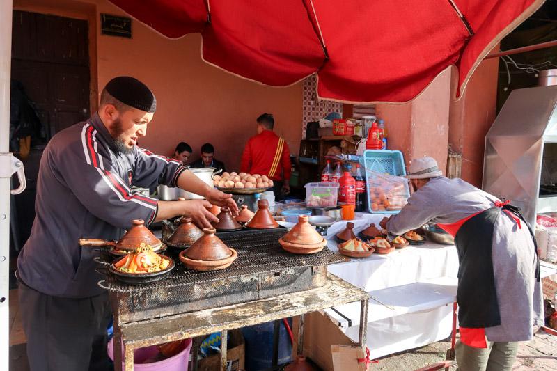 Streetfood: Essen aus der Tajine