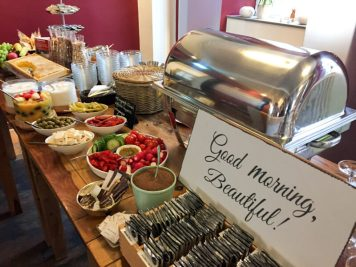 Liebevolles Frühstück im Hotel Bergzaberner Hof