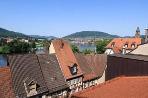 Über den Dächern von Miltenberg
