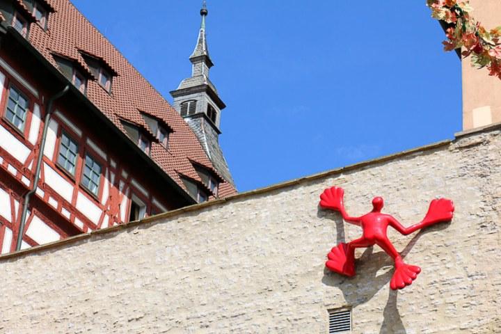 Fassadenkletterer in Besigheim