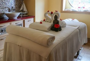 Massage im Spa