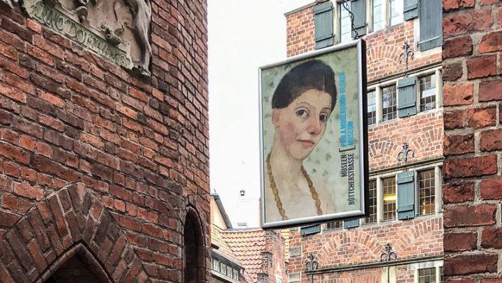 Shoppen & Kunst, beides findet man in der Böttcherstraße