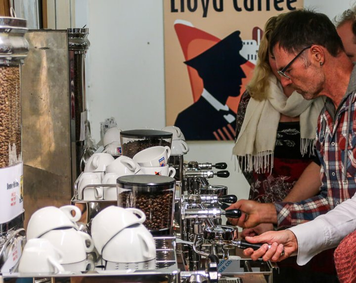 Baristakurs bei Lloyd-Kaffee