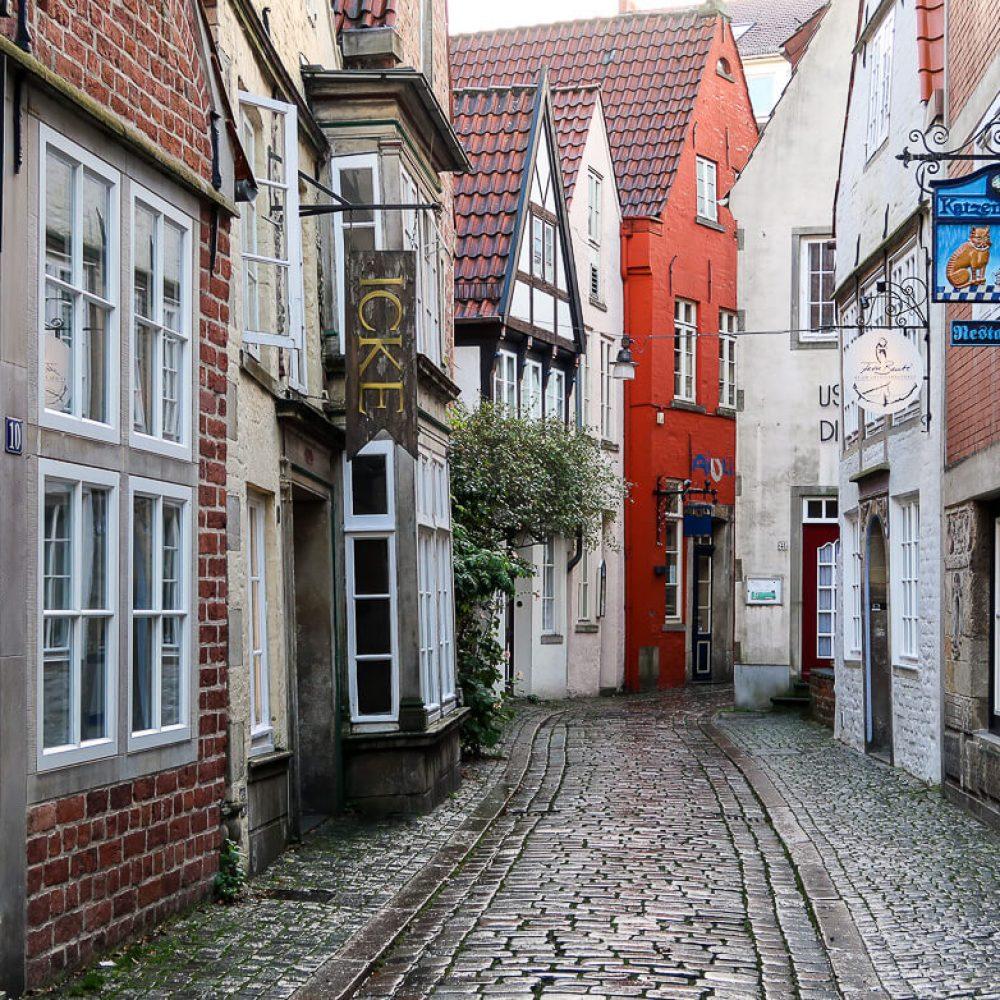 Bremens bezauberndes Bilderbuchviertel: Schnoor