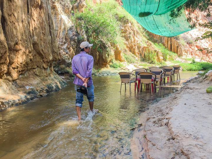 Rastplatz im Canyon von Mui Ne #muine #vietnam #fernreise #delicious_travel