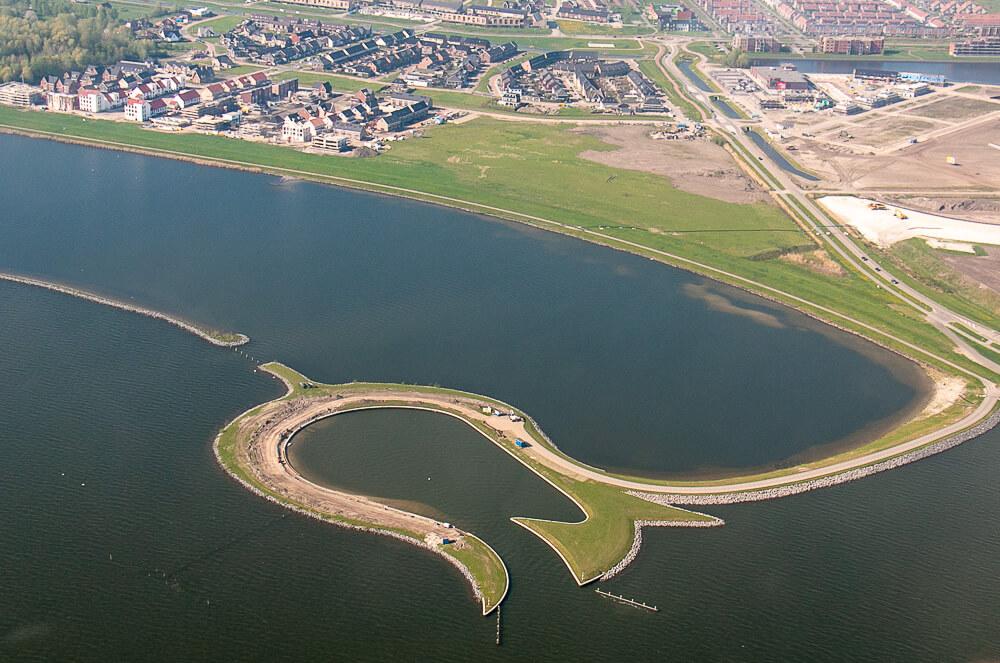 Flevoland aus der Luft
