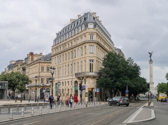 Interessante Architektur in Bordeaux