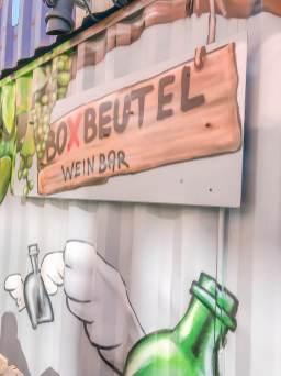 Pop up Boxbeutelbar in München