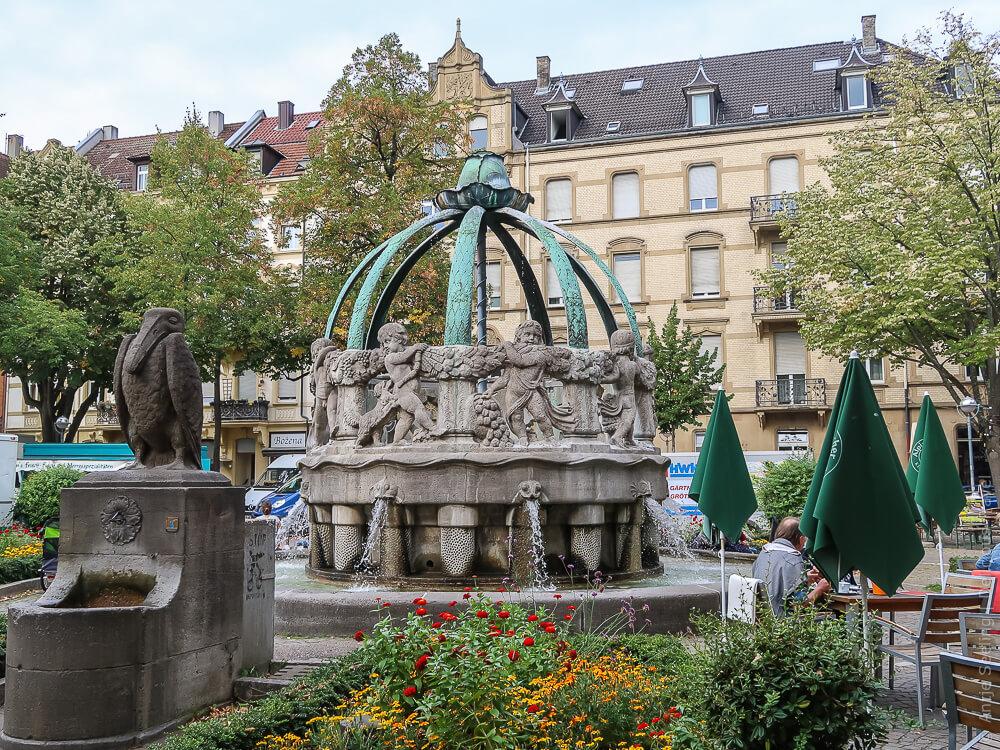 Gutenbergplatz in Karlsruhe
