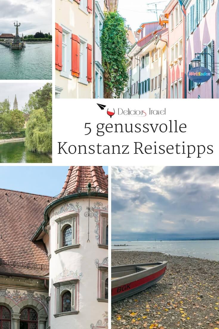 Konstanz begeistert mit südlichem Flair. Hier sind unsere 5 Tipps für ein genussvolles Wochenende in der größten Stadt am Bodensee für euch. #konstanz #reisetipps #bodensee #tagesausflug