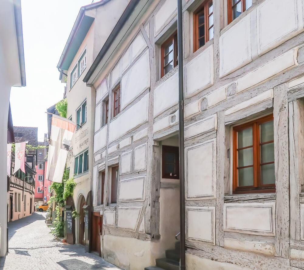 Fachwerkhaus in der Niederburg, Konstanz