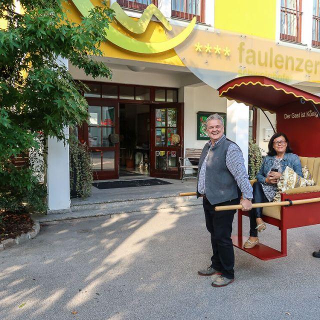 Faulenzerhotel in Friedersbach (Waldviertel/NÖ)