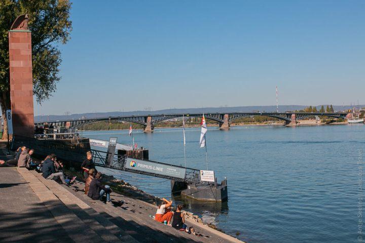 Mainz Rheinufer