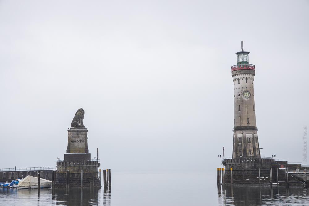 Hafeneinfahrt Insel Lindau, Bodensee