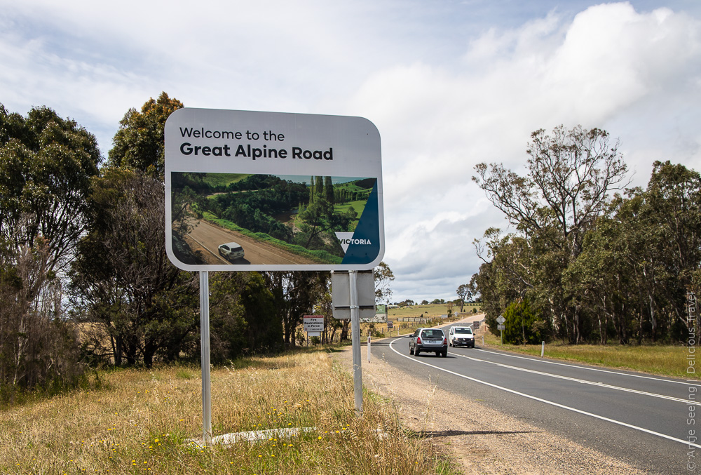 Abenteuer Great Alpine Road in Victoria, Australien
