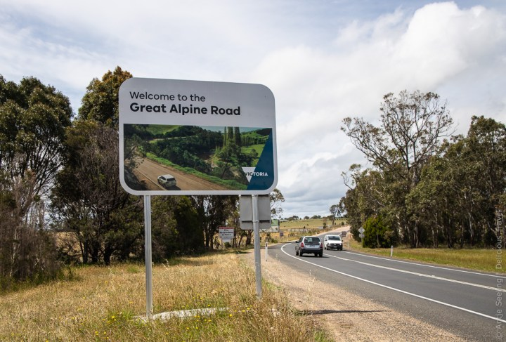 Abenteuer Great Alpine Road in Victoria, Australien