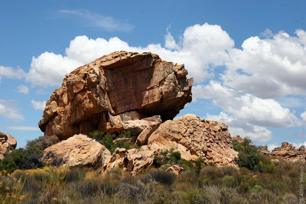 Felsen in den Cederbergen, Südafrika