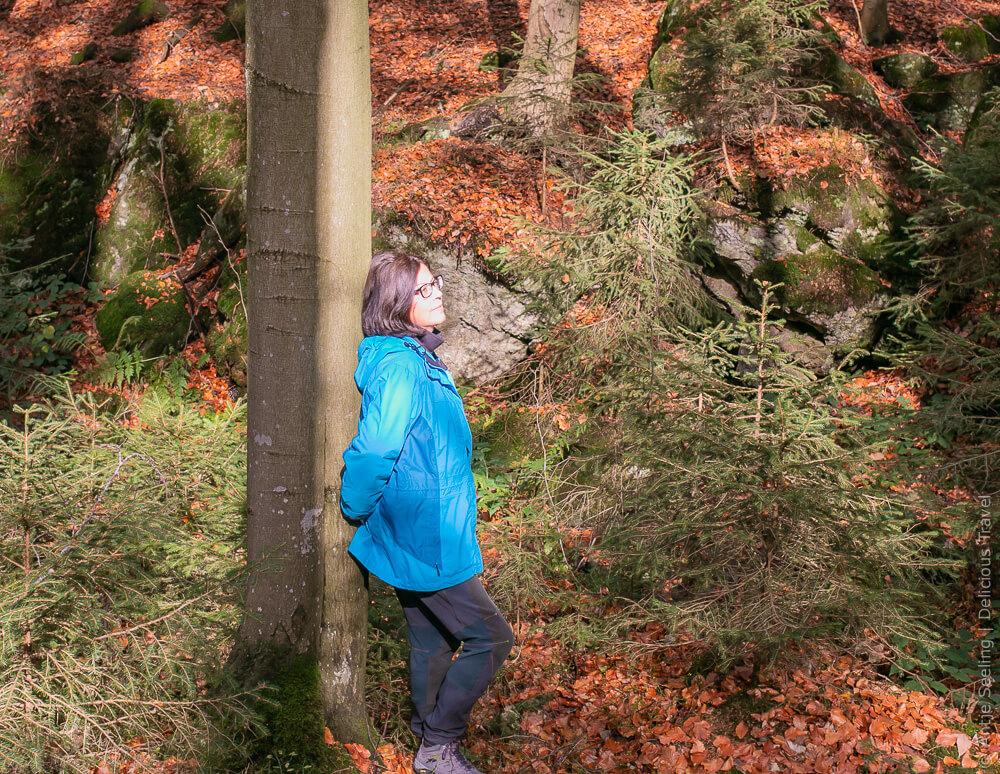Stress lass nach: Abtauchen im Wald