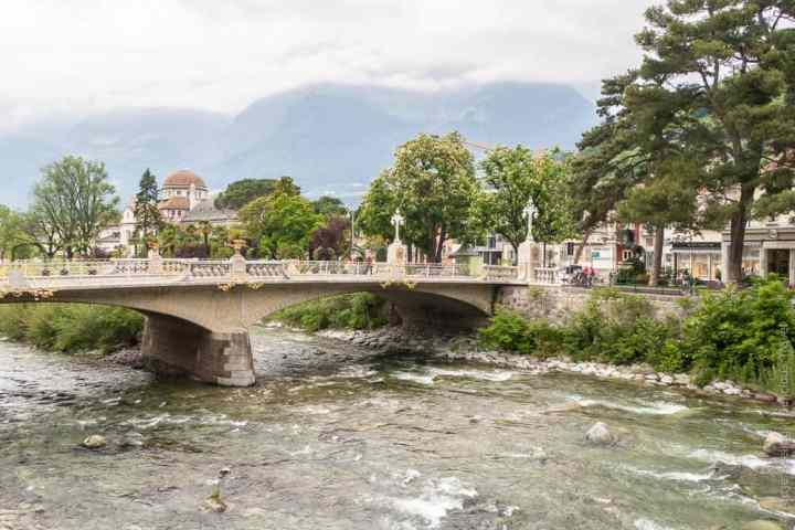 Meran, Brücke über die Passer