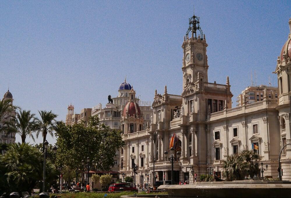Zentrum von Valencia, Spanien