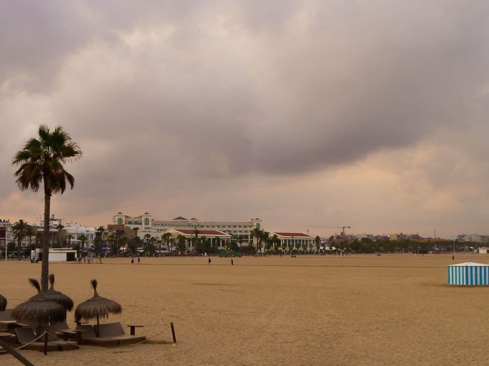 Playa de la Malvarossa