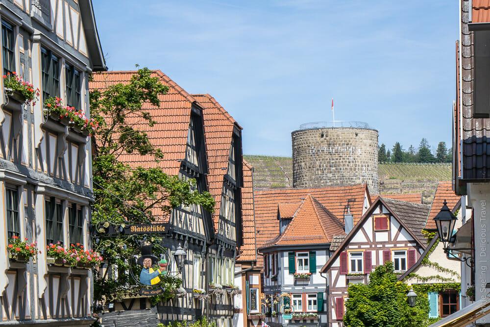Das mittelalterliche Zentrum von Besigheim