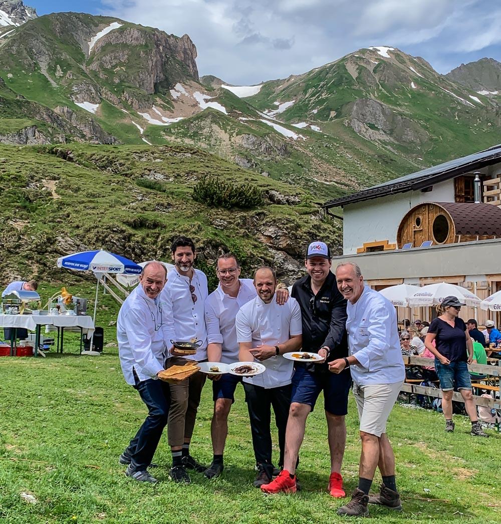 Kulinarischer Jakobsweg: Sterneküche in den Bergen