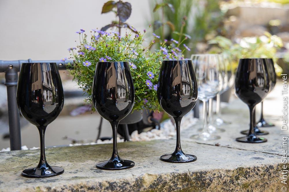 Blind-Weinprobe