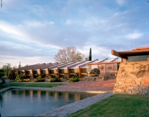 Frank Lloyd Wright's Taliesin West in Scottsdale, Ariz.