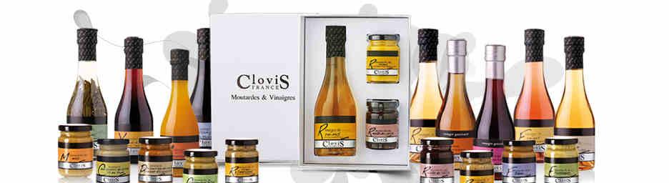 Vinaigrettes de la Maison Clovis : nouveautés