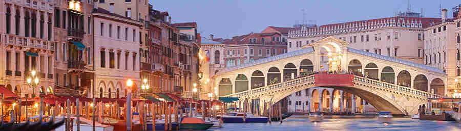 Venise, 6 j./ 5 nuits  358 euros TTC