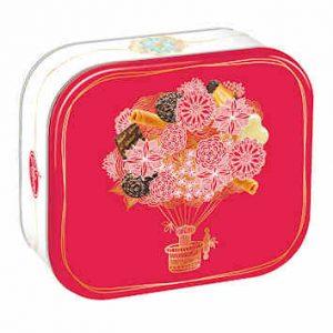 Boites printemps Delacre 2017 bouquet fleur 10x10cm HD