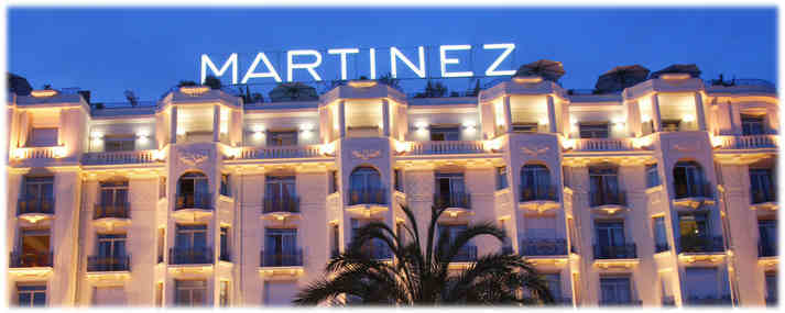Réveillon, fêtes de Noël à l'Hôtel Martinez à Cannes