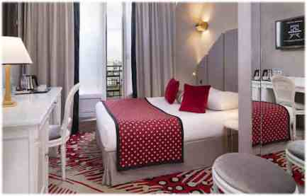 Paris-Hotel-victor-hugo-chambre-rouge