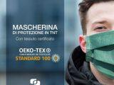 10 Mascherine di protezione in tnt