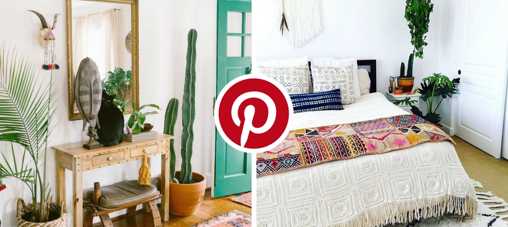 What s Hot on Pinterest  5 Bohemian Interior Design Ideas What s Hot on Pinterest 5 Bohemian Interior Design Ideas