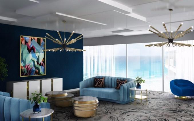 Chandelier Living Room Ideas