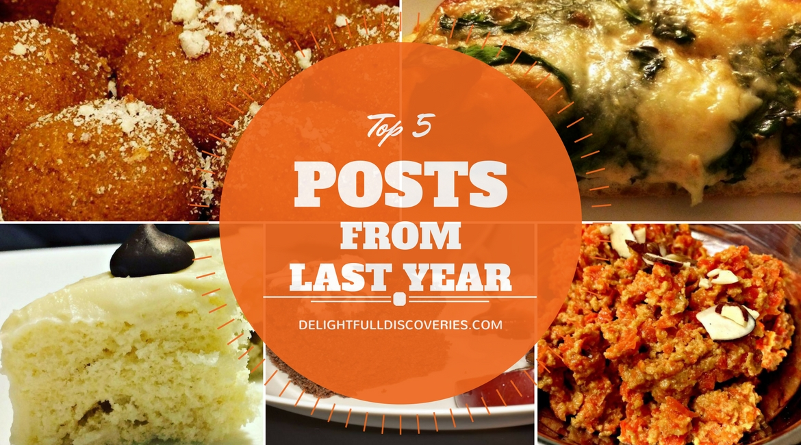 My Top 5 Posts From Last Year